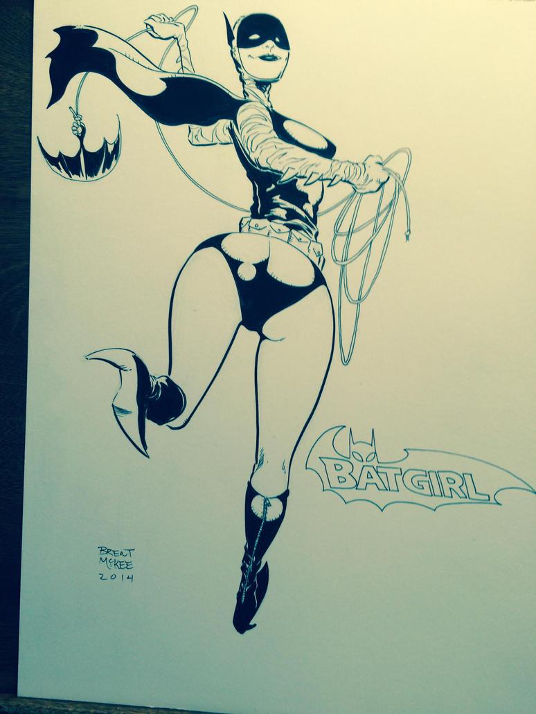 Batgirl goofy by BrentMcKee