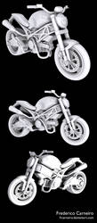 Ducati monster 696 by frcarneiro