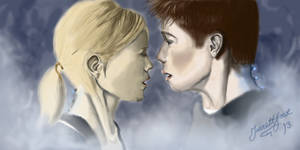 Ben and Karen- The Kiss (With Video) by Glowe94