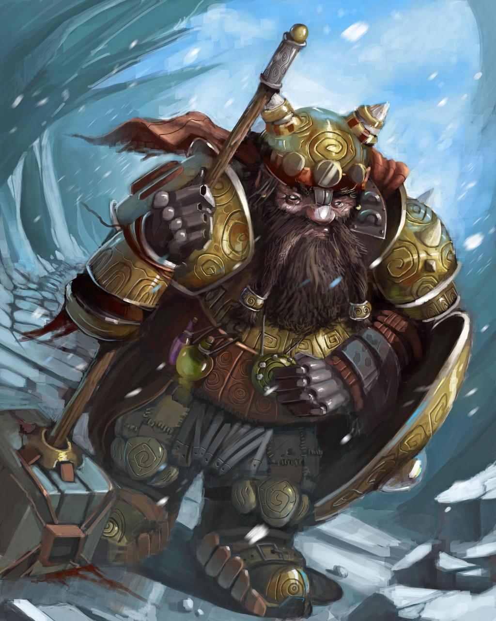 Tired Dwarf by GansOne89