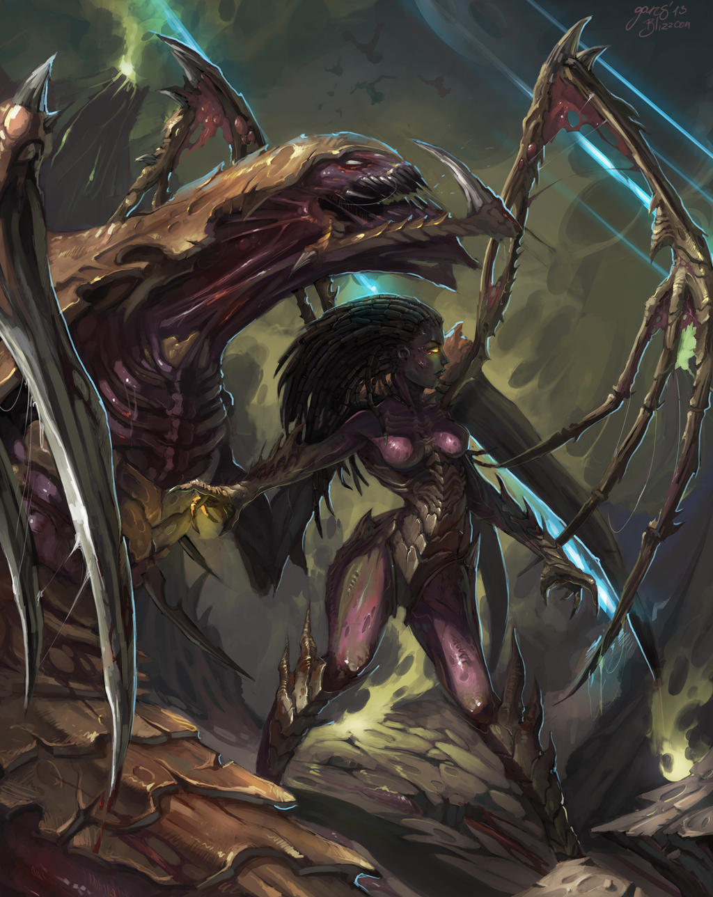 Queen of Blades by GansOne89