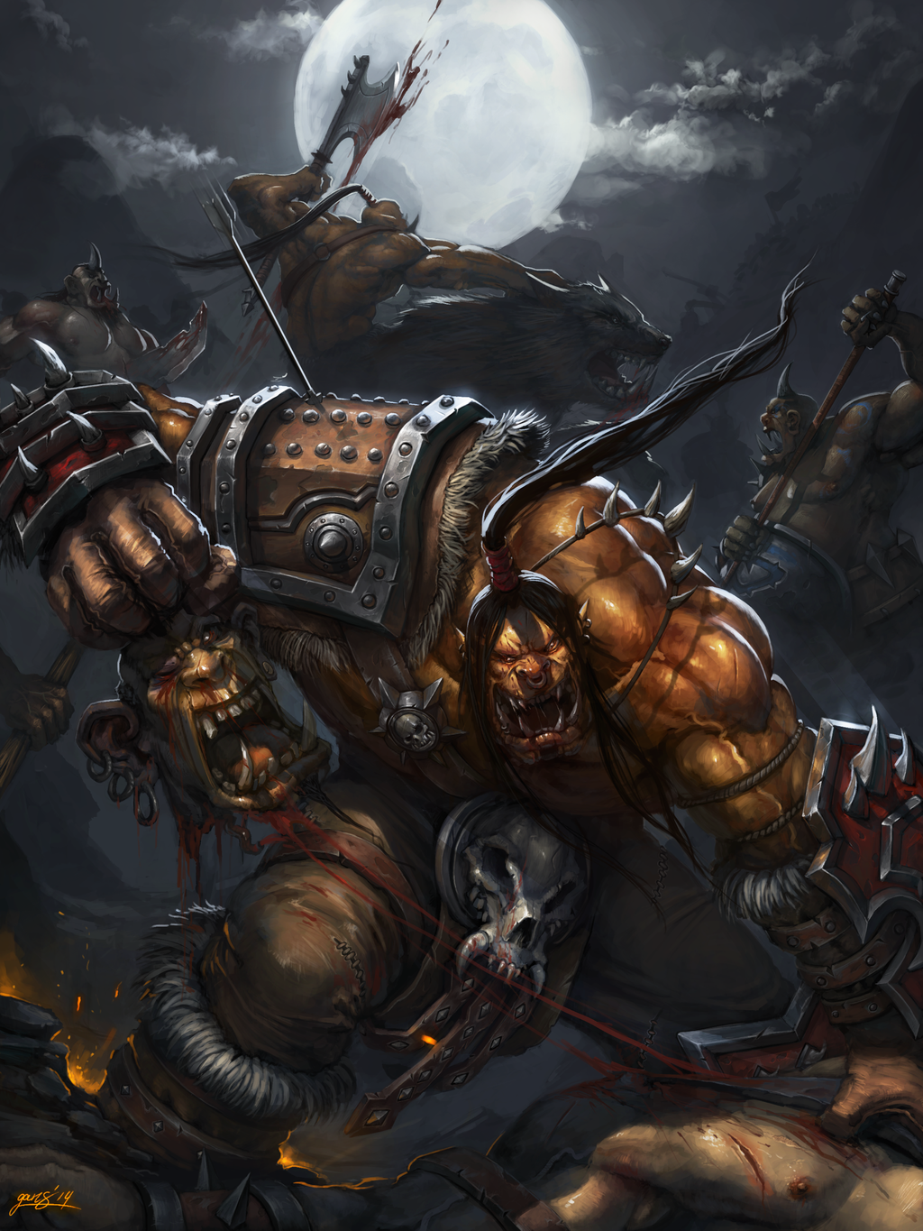 The wrath of Grommash by GansOne89