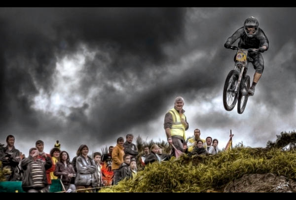 The rider by LOUSTIQUE Are you Extreme? Brilliant Examples of HDR Extreme Sports Photography