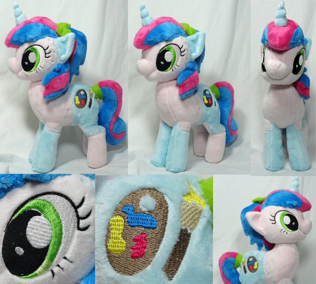 Cotton Candy Plush by Cryptic-Enigma
