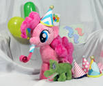 Pinkie Pie Plush with Party Accessories