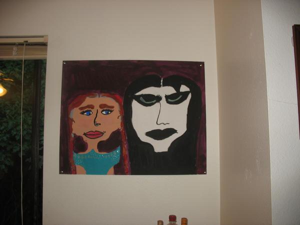 Painting of Karl