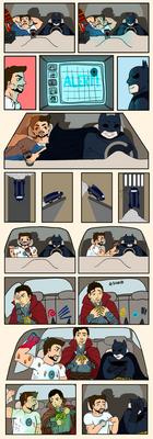Marvel/DC Comic Strip