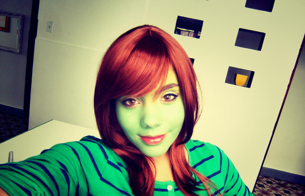 WIP: Miss Martian Makeup by jahmali ...