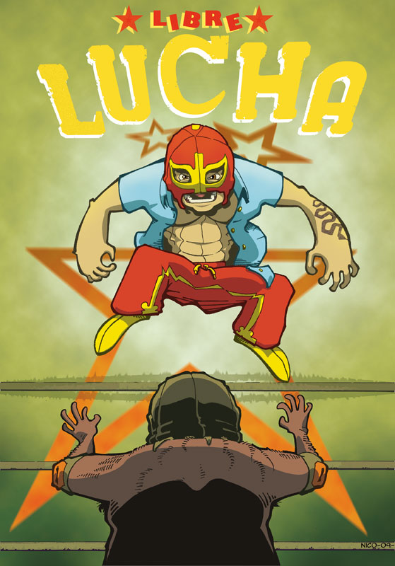 Lucha Libre Fan Art new one by Cocopacabana on DeviantArt