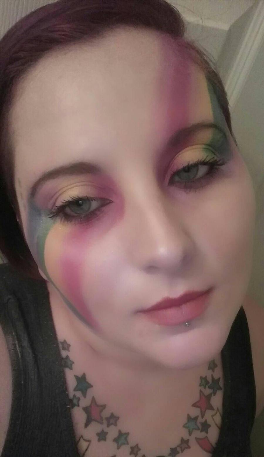 LGBTQ+/PRIDE make-up two