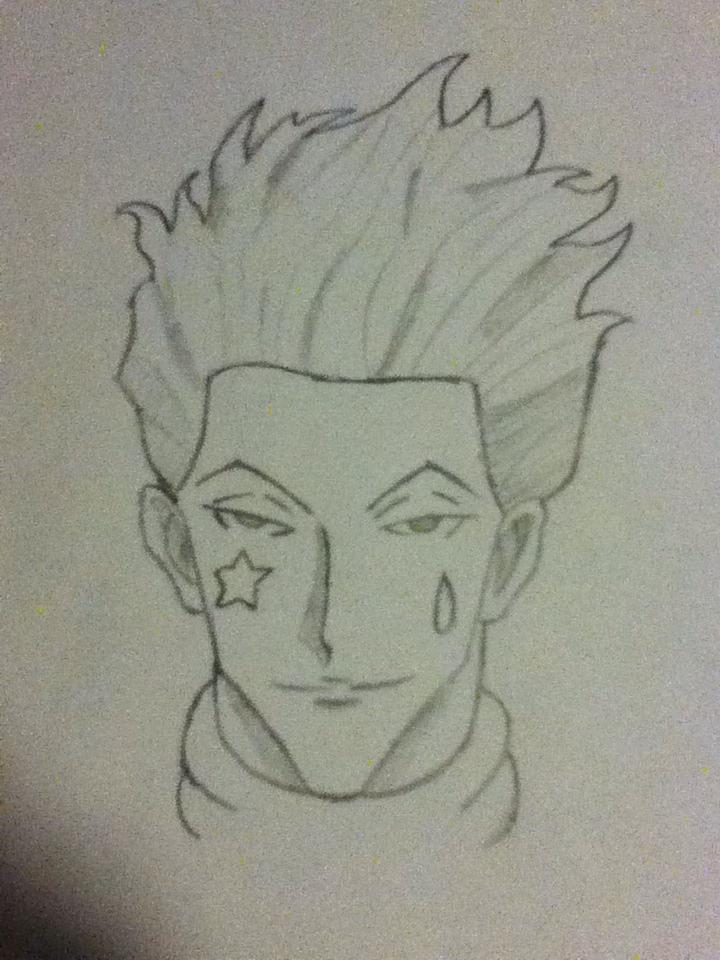 Hisoka Drawing by istayfrosti on DeviantArt