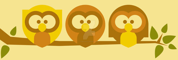 Owls by Tabbathehutt