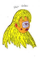 Hair Golem by cicadamarionette