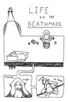 Life In the Deathmaze Pg1 by cicadamarionette