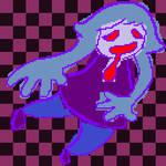 Floaty Smiley Ghostgal