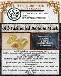 Yum Yum!! With Lily's Corner: Banana Mush by cicadamarionette