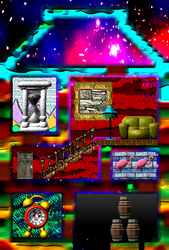 Ant Maze 2: House