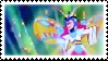 Butterfly Thumbelina Stamp by Sahkmet