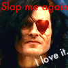 Stayne Icon: Slap me AGAIN by Sahkmet