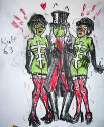 Rule 63 Piper Twins by Sahkmet
