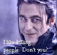 I like killing people. by Sahkmet
