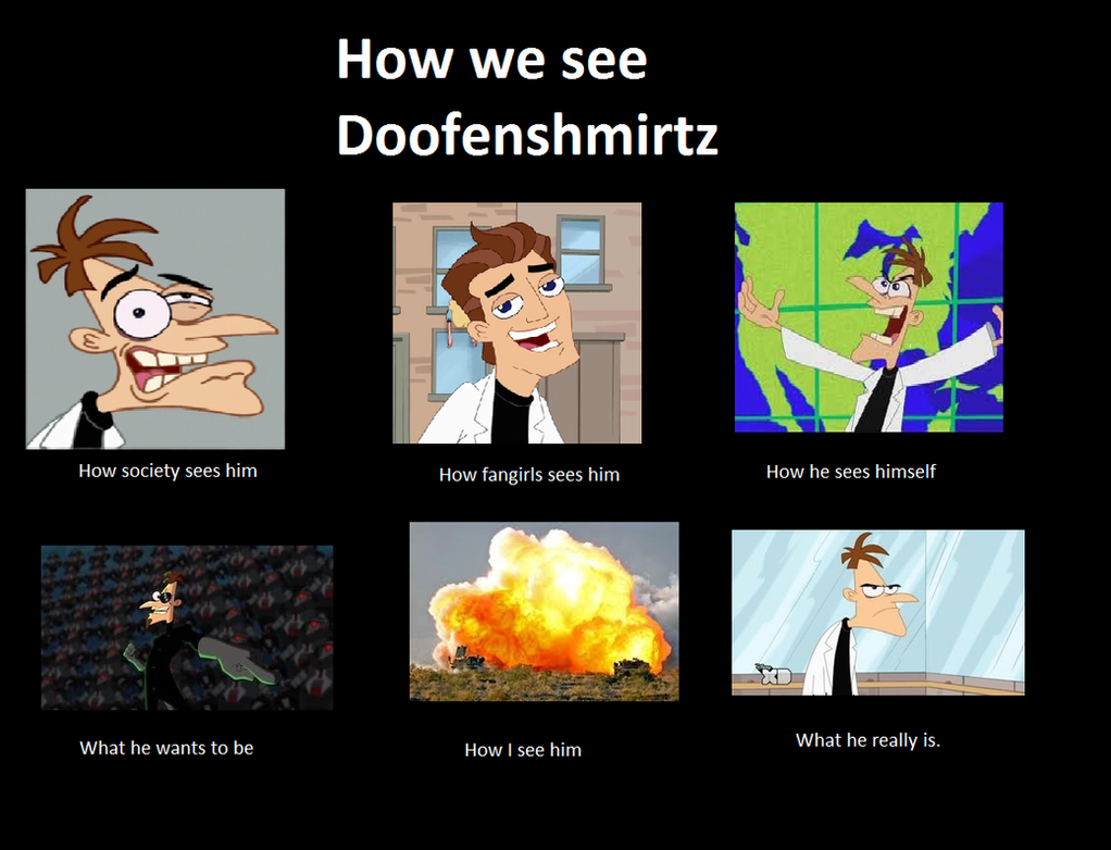 Doofemshmirtz meme by animegx43