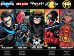 The Sons of the Bat Infographic