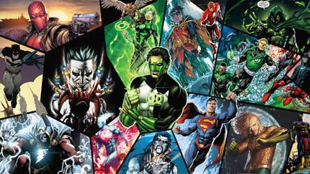My Favorite Heroes by tomtom2012