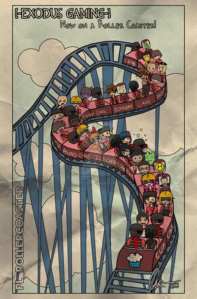 Roller Coaster Team Building Game