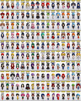 My 3DCGs: Chibi Maker Chibi Cast by RedFalcon23