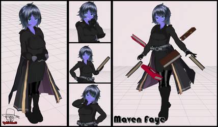 My 3DCG: Maven Faye