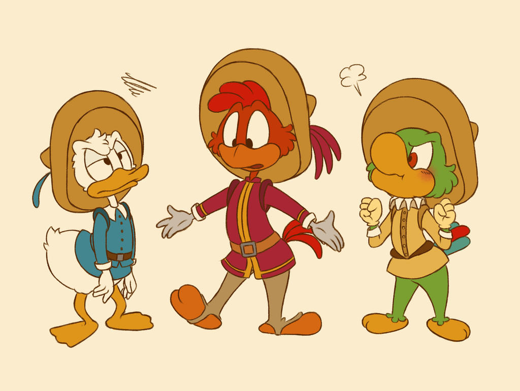 the three caballeros by sac2422
