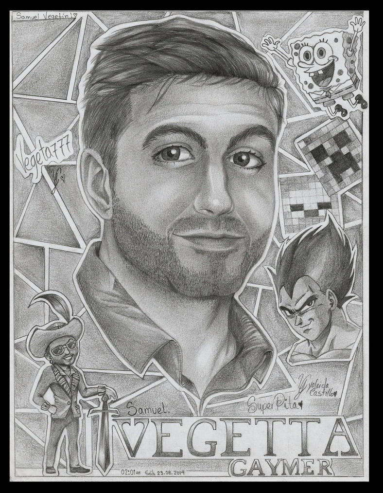 Vegetta777 by lasuperpita