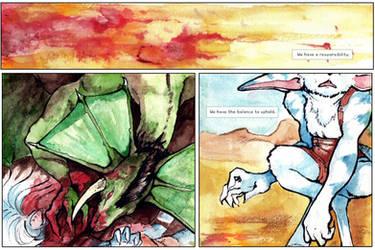 ProtC Prologue: Page Three by talonserena