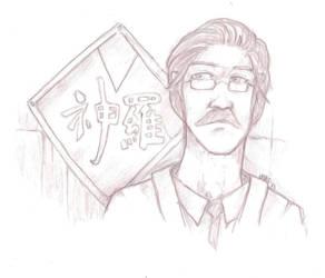 Unfinished: Professor Gast by talonserena