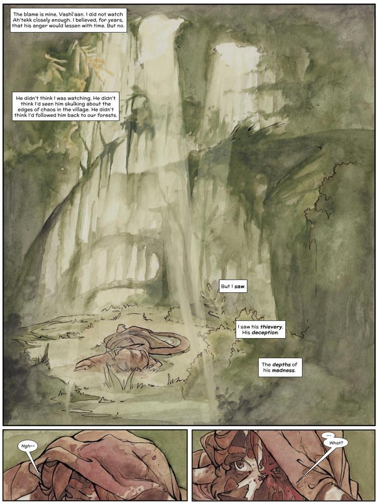 Interlude Two: Page 1 by talon-serena