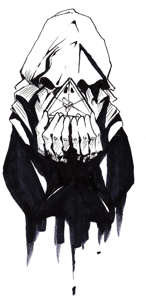 Inktober #15 - I Am Gray by talon-serena