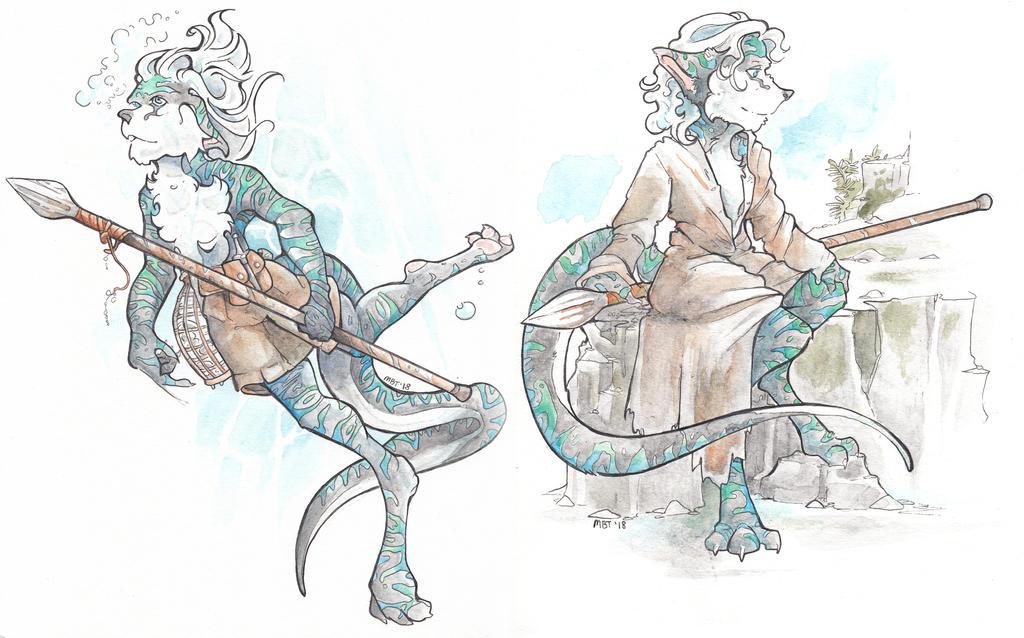 Custom Character Commission - WDG by talon-serena
