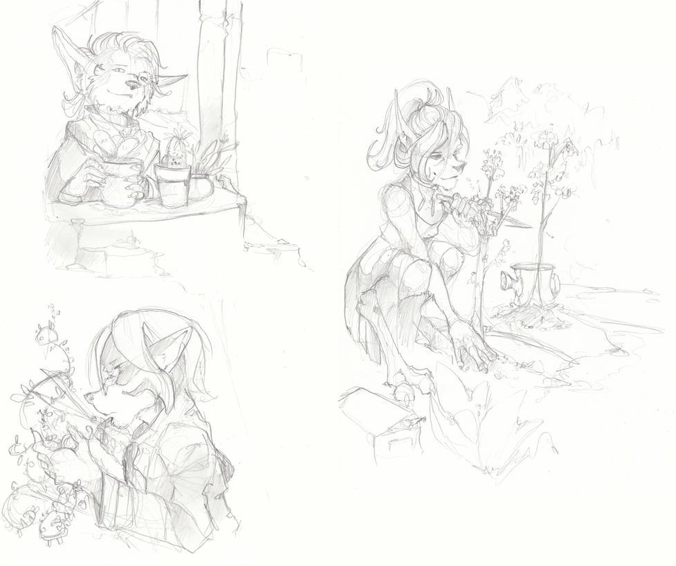 Suggest-A-Sketch - April - William Smith by talon-serena