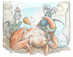 Crab Battle