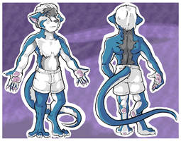 Commission - As-Yet-Unnamed Character Sheet Pt 1