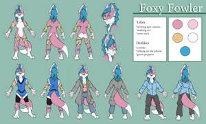 Character Sheet - Fowler