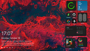Windows 10 with mac OS theme