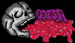 Oddessa's Skull by MeanCarcass