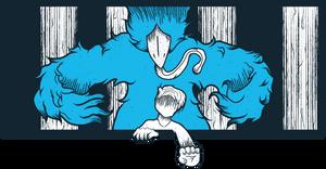 Birds Embrace by MeanCarcass