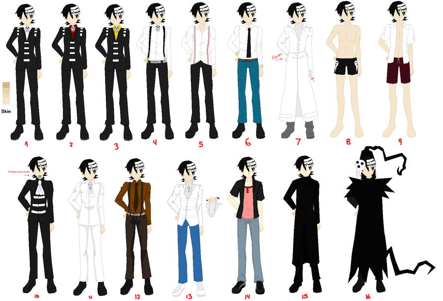Death The Kid - Outfits/Costumes by Kurokkii ...  sc 1 st  DeviantArt & Death The Kid - Outfits/Costumes by Kurokkii on DeviantArt