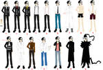 Death The Kid - Outfits/Costumes