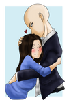 AT: Wendell and Alexandra by Kurokkii