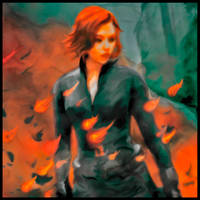 Black Widow ~ Avengers by ravenoth-the-brave