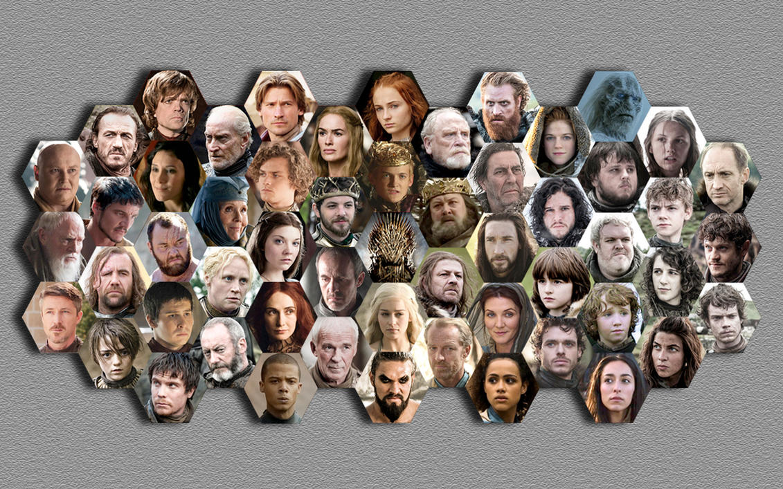 Game Of Thrones Characters Wallpaper Hd Wallpapers Images